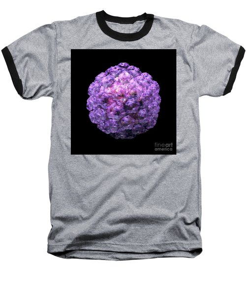 Baseball T-Shirt featuring the digital art Human Papilloma Virus  10 by Russell Kightley