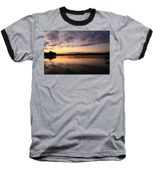 Hungry Fish At Sunrise Baseball T-Shirt