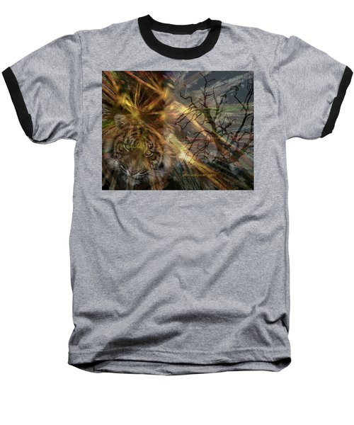 Baseball T-Shirt featuring the photograph Hunter by EricaMaxine  Price