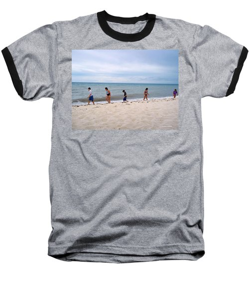 Baseball T-Shirt featuring the photograph Hurry Up  by Cynthia Amaral