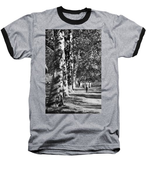 Baseball T-Shirt featuring the photograph Hyde Park Trees by Maj Seda