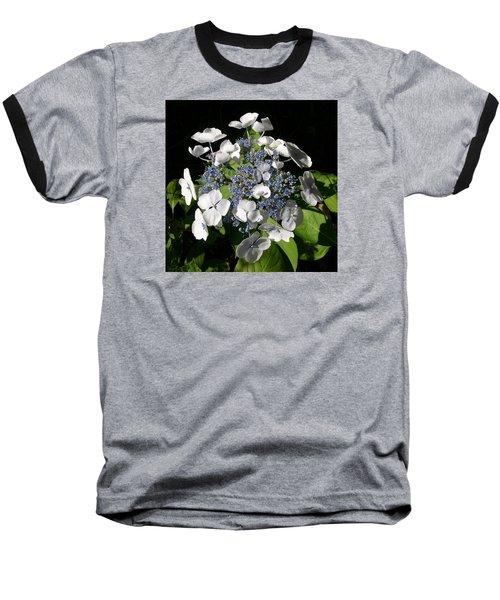 Baseball T-Shirt featuring the digital art Hydranga by Claude McCoy
