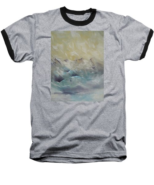 Baseball T-Shirt featuring the painting I Like It When It's Cold  by Dan Whittemore