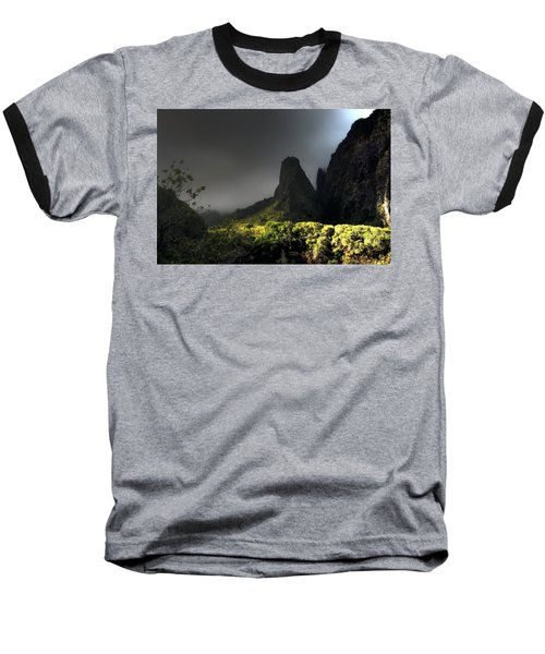 Iao Mountains Baseball T-Shirt