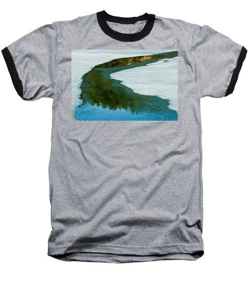 Ice Borders Baseball T-Shirt
