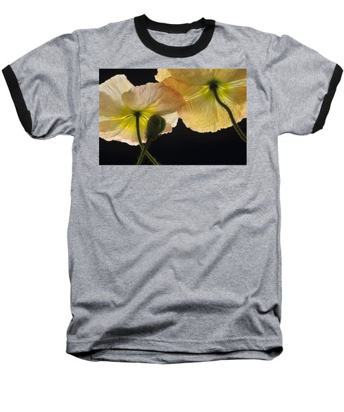 Iceland Poppies 2 Baseball T-Shirt