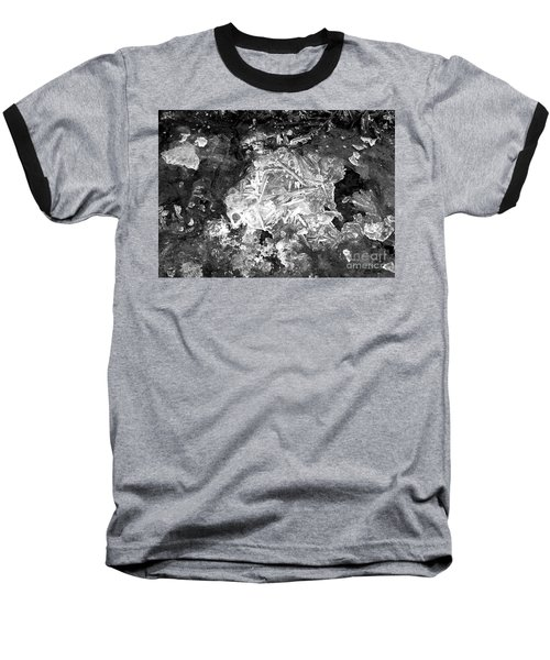 Baseball T-Shirt featuring the photograph Icy Road by Chalet Roome-Rigdon