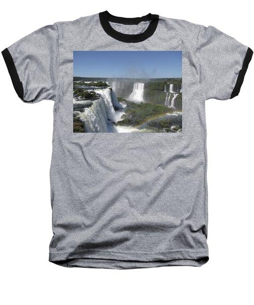 Baseball T-Shirt featuring the photograph Iguazu Falls by David Gleeson