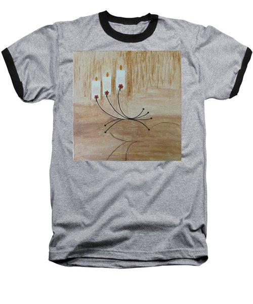 Baseball T-Shirt featuring the painting Illumination by Sonali Gangane