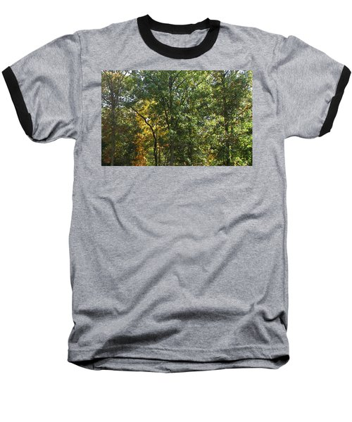 Baseball T-Shirt featuring the photograph Image Of Fall by Pamela Hyde Wilson