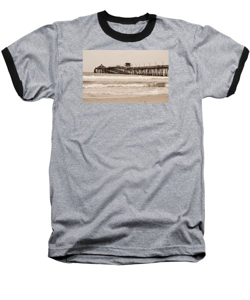 Baseball T-Shirt featuring the photograph Imperial Beach by Rima Biswas