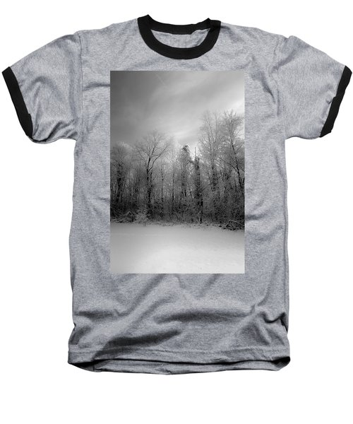 Impressionist Snow Baseball T-Shirt