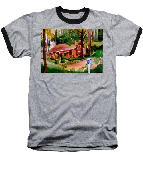 In A Cottage In The Woods Baseball T-Shirt