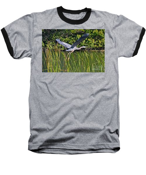 In Flight Baseball T-Shirt