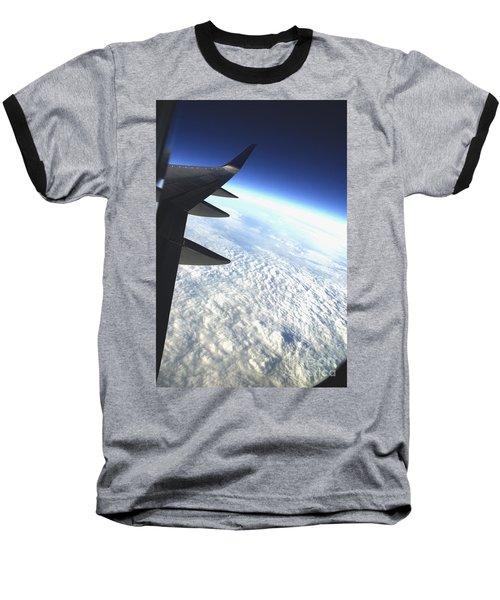 in Orbit Baseball T-Shirt by Micah May