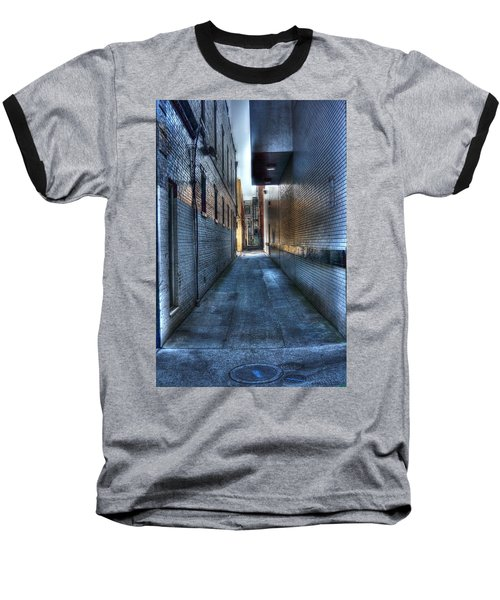In The Alley Baseball T-Shirt by Dan Stone
