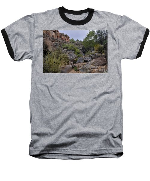 Baseball T-Shirt featuring the photograph In The Arroyo   by Ron Cline