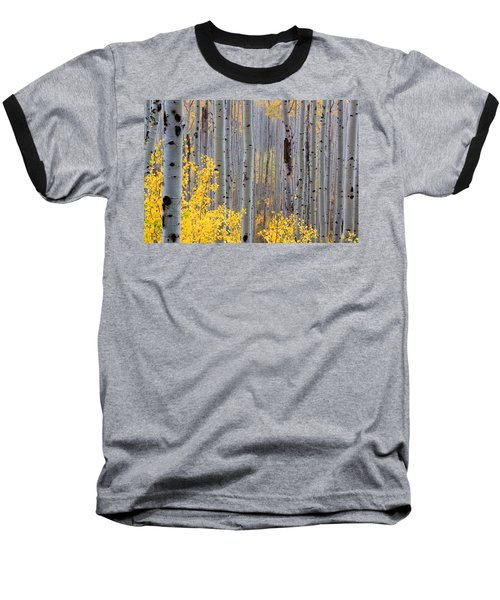 Baseball T-Shirt featuring the photograph In The Thick Of Things by Jim Garrison