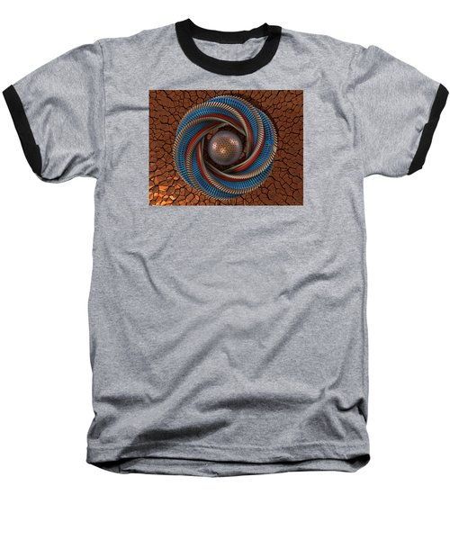 Baseball T-Shirt featuring the digital art Inclusion by Manny Lorenzo