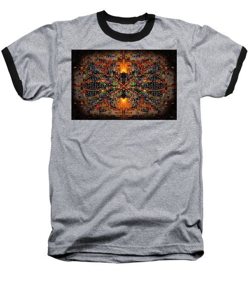 Infinity Mosaic Warm Baseball T-Shirt