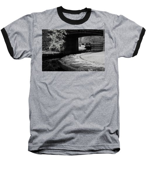 Baseball T-Shirt featuring the photograph Infrared At Llangollen Canal by Beverly Cash