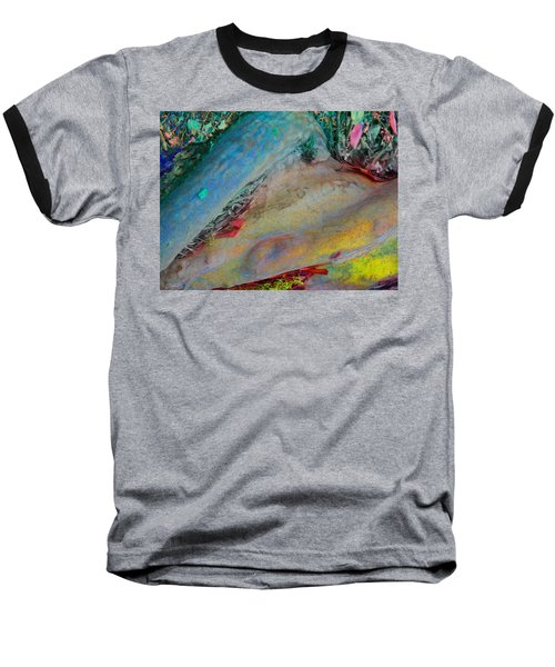 Baseball T-Shirt featuring the digital art Inner Peace by Richard Laeton