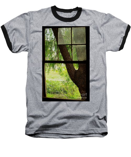 Baseball T-Shirt featuring the photograph Inside Looking Out by Blair Stuart