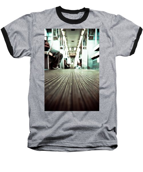 Inside The L At A Low Angle Baseball T-Shirt