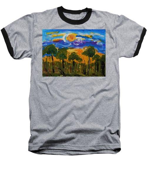 Intense Sky And Landscape Baseball T-Shirt
