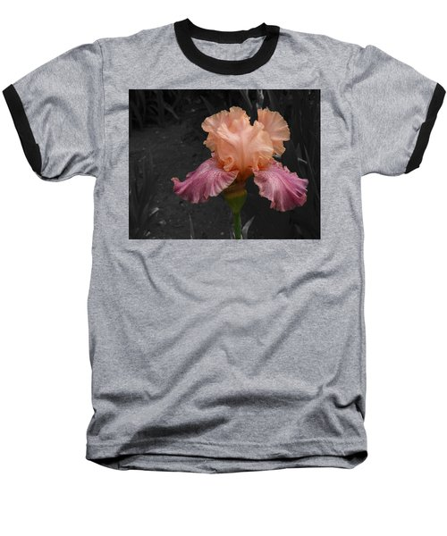 Baseball T-Shirt featuring the photograph Iris2 by David Pantuso