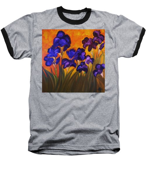 Irises In Motion Baseball T-Shirt