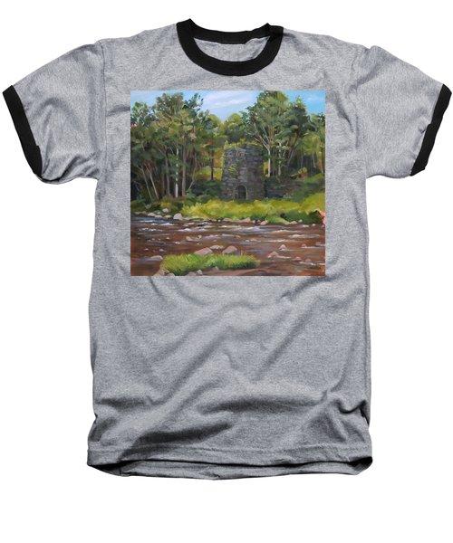 Iron Furnace Of Franconia New Hampshire Baseball T-Shirt