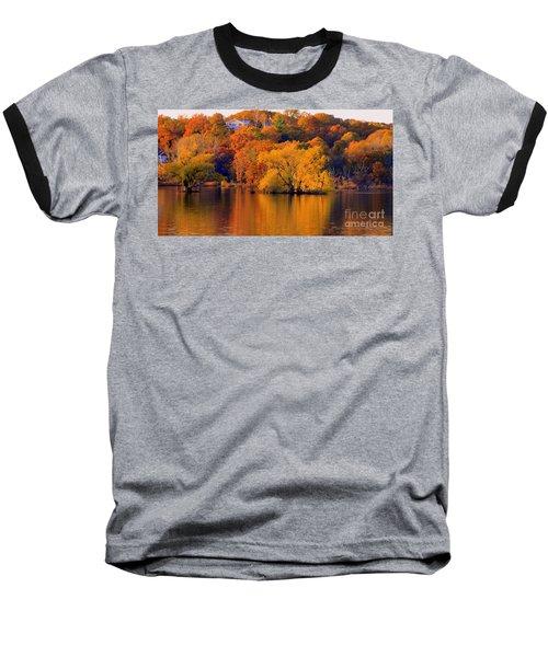 Island  In Fall Baseball T-Shirt