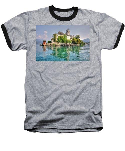 Island San Giulio Baseball T-Shirt