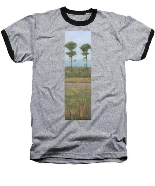 Island Twins Baseball T-Shirt by Steve Mitchell