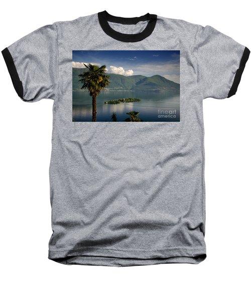 Islands On An Alpine Lake Baseball T-Shirt