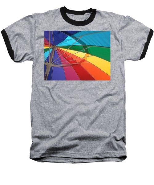 Baseball T-Shirt featuring the photograph It's A Rainbow by David Pantuso
