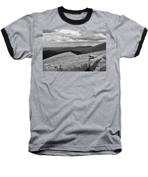 Baseball T-Shirt featuring the photograph It's Raining In The Distance by David Pantuso