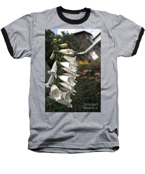 Ivory Foxglove Baseball T-Shirt