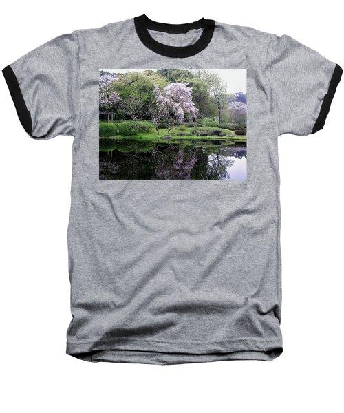 Japan's Imperial Garden Baseball T-Shirt