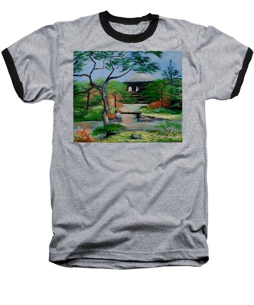 Jardin Japonais  Baseball T-Shirt