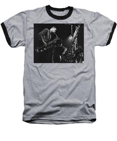 Jazz Scene Baseball T-Shirt