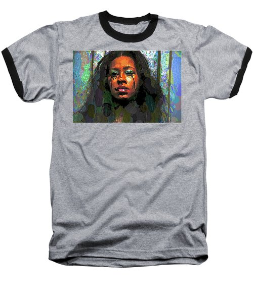 Baseball T-Shirt featuring the photograph Jemai by Alice Gipson