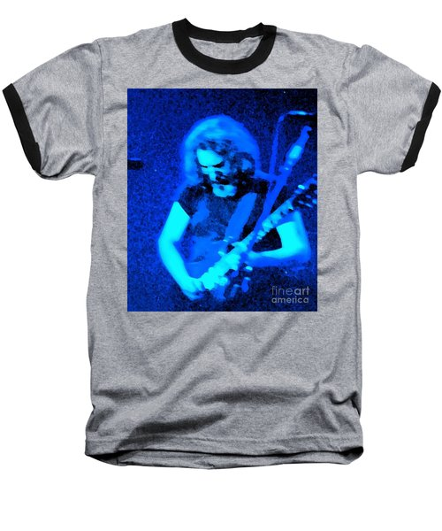 Baseball T-Shirt featuring the photograph The Man In Blue by Susan Carella