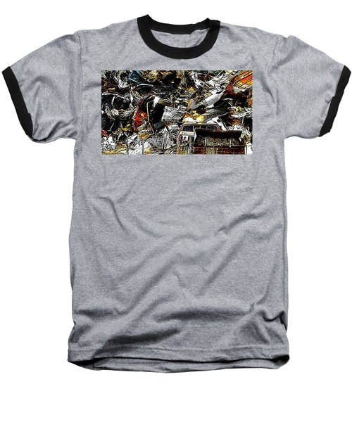 Baseball T-Shirt featuring the photograph Junky Treasure 2 by Lydia Holly