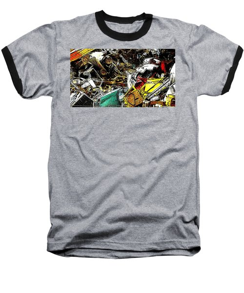 Baseball T-Shirt featuring the photograph Junky Treasure by Lydia Holly
