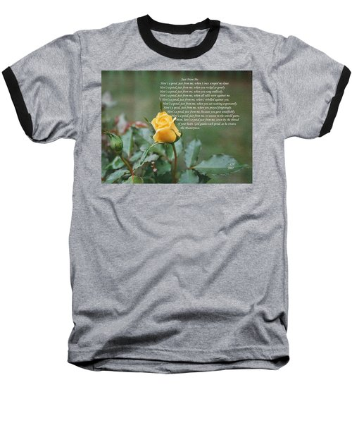 Just From Me Baseball T-Shirt
