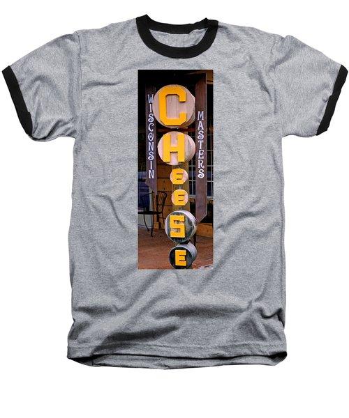 Just Say Cheese Baseball T-Shirt
