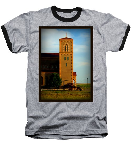 Baseball T-Shirt featuring the photograph Kansas Architecture by Jeanette C Landstrom