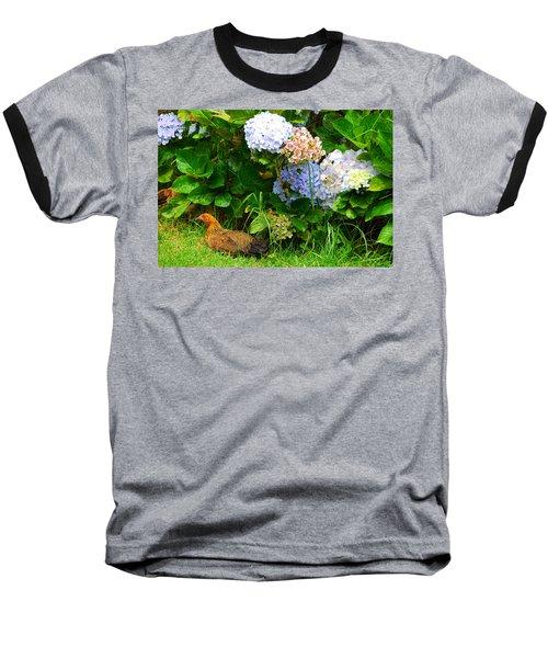 Kauai Wildlife Baseball T-Shirt by Lynn Bauer